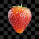 Strawberry With Alpha - VideoHive Item for Sale