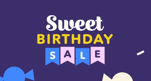 Envato's Birthday Sale
