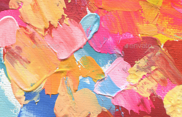 Abstract acrylic and watercolor painting. Canvas texture background. - Stock Photo - Images