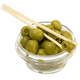 Green Olives In A Bowl On A White Background - PhotoDune Item for Sale