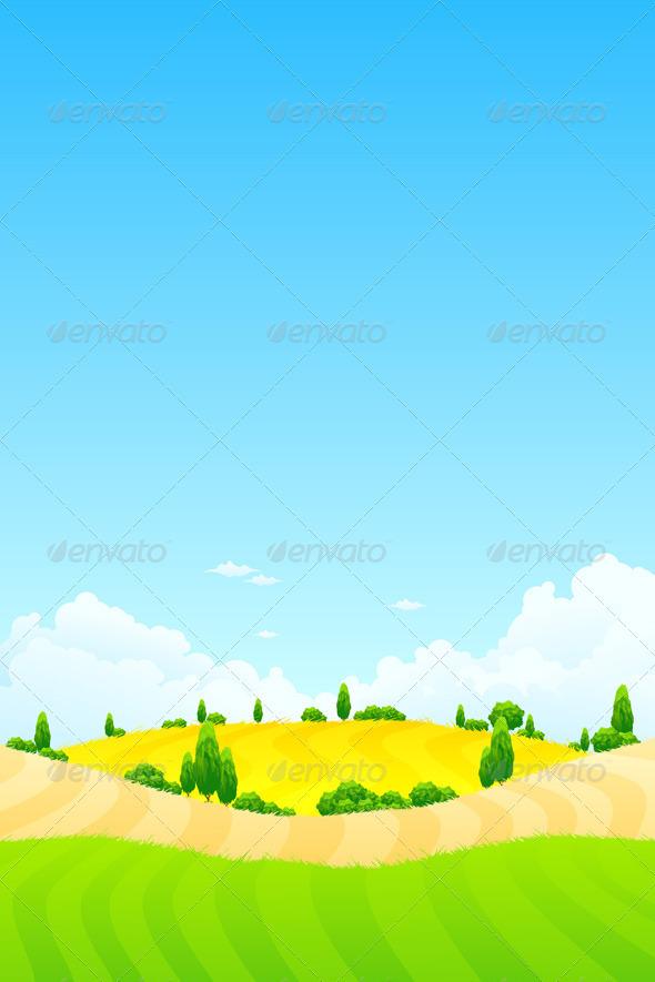 Summer Landscape - Landscapes Nature