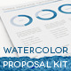 Watercolor Professional Proposal Kit  - GraphicRiver Item for Sale