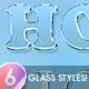 6 Glass and Frost Styles - GraphicRiver Item for Sale