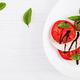 Traditional Italian Caprese Salad with mozzarella, tomato, basil - PhotoDune Item for Sale
