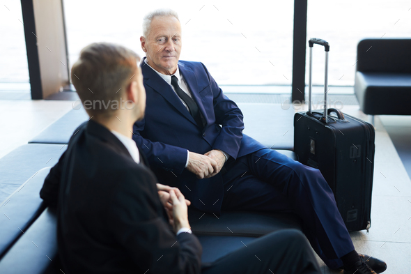 BVusiness People in Airport - Stock Photo - Images