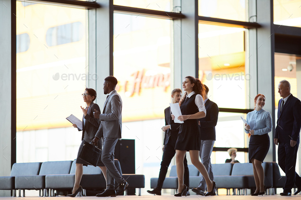 Group of Business People Background - Stock Photo - Images
