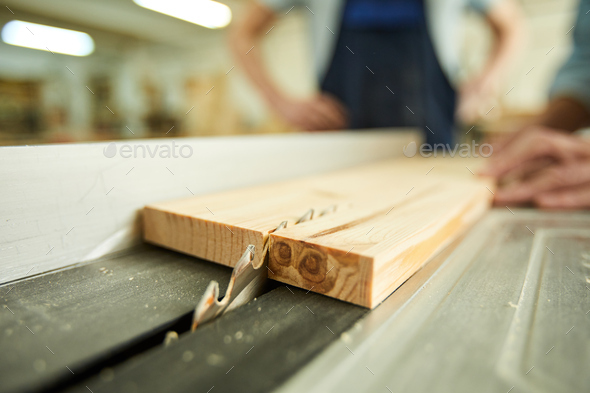 Electric Wood Cutter - Stock Photo - Images