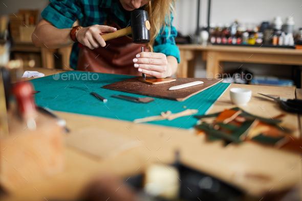 Leatherworking Shop - Stock Photo - Images