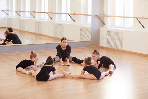 Kids in Dance Studio - Stock Photo - Images