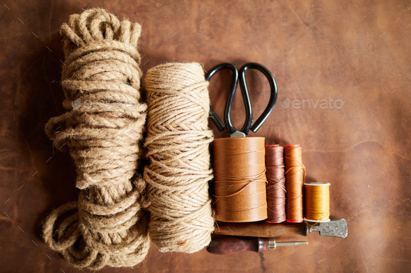 Ropes and Threads - Stock Photo - Images