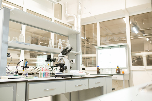Place for scientific research - Stock Photo - Images