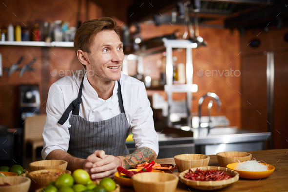Professional Chef - Stock Photo - Images