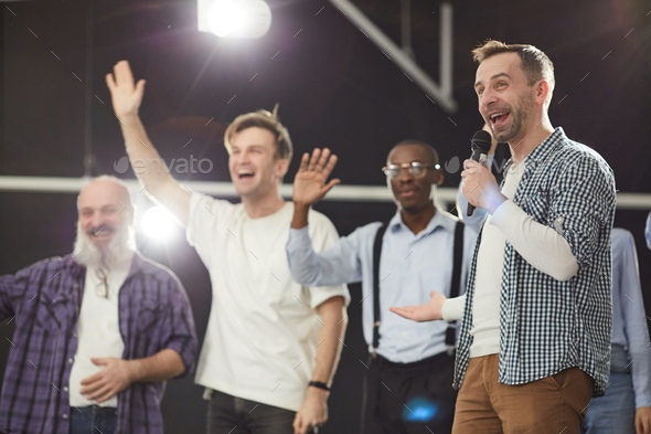 Audience Participation - Stock Photo - Images