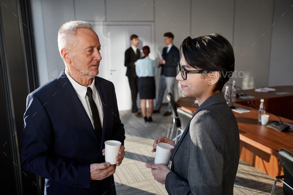 Coffee Break in Meeting - Stock Photo - Images