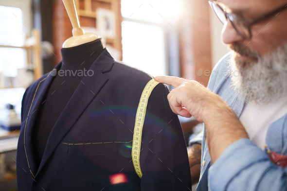 Working over jacket - Stock Photo - Images