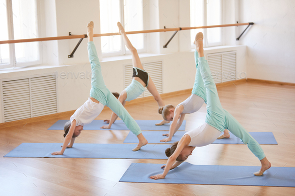 Yoga for Children - Stock Photo - Images