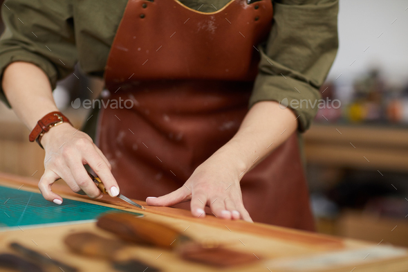 Tanner at Work - Stock Photo - Images