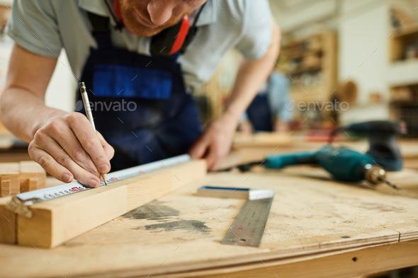 Carpenter Closeup - Stock Photo - Images