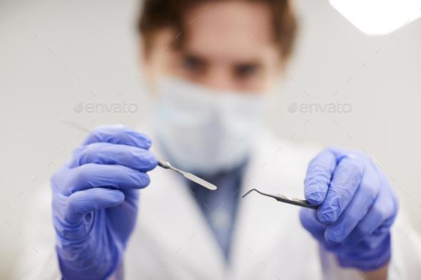 Dentist Closeup - Stock Photo - Images