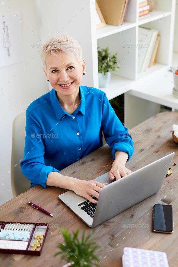 Happy designer - Stock Photo - Images