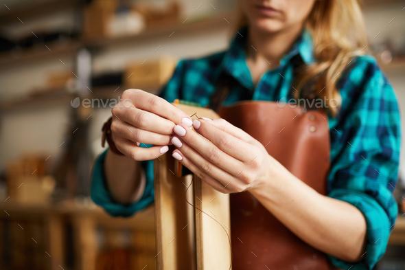 Leatherworking Studio - Stock Photo - Images