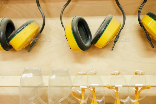 Protective Earphones - Stock Photo - Images