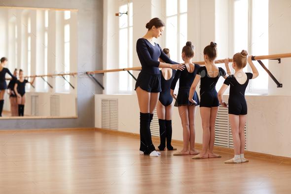 Ballet School for Girls - Stock Photo - Images