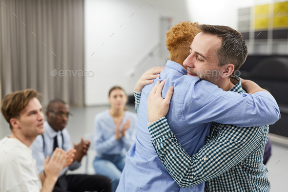 Healing in Support Group - Stock Photo - Images