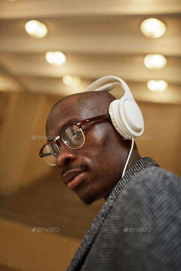 Portrait of Trendy African Man - Stock Photo - Images