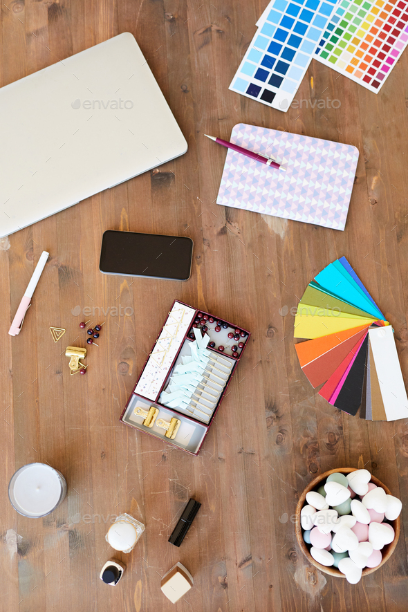 Items for creativity - Stock Photo - Images