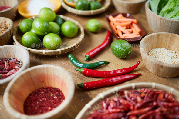Spicy Ingredients - Stock Photo - Images