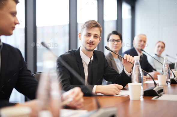 People in Business Conference - Stock Photo - Images