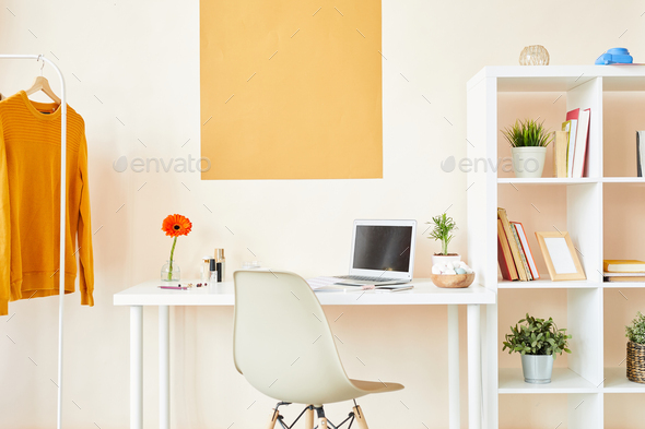 Workplace in studio - Stock Photo - Images