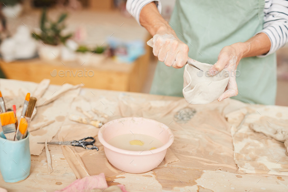 Art of Pottery - Stock Photo - Images