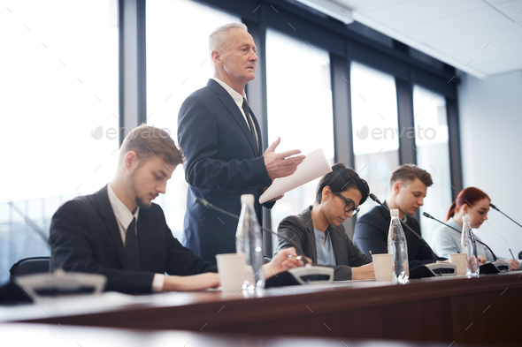 Business Coach working - Stock Photo - Images