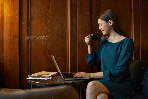 Elegant woman - Stock Photo - Images