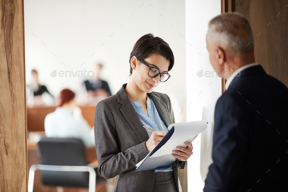 Student Asking Mentor - Stock Photo - Images