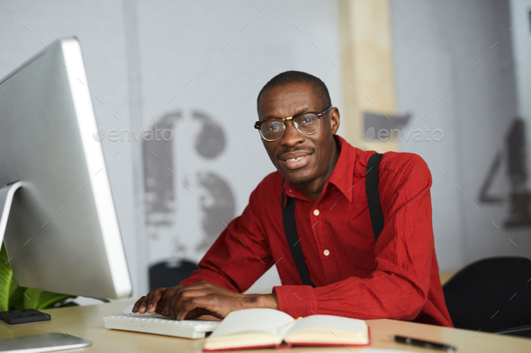 Contemporary African Businessman - Stock Photo - Images