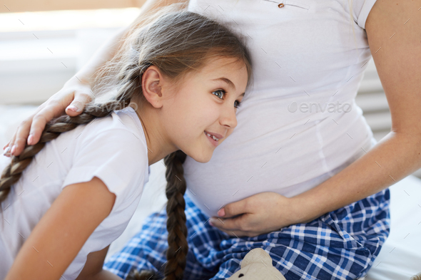 Sister on the Way - Stock Photo - Images
