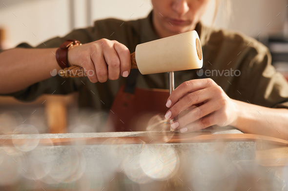 Traditional leather Craft - Stock Photo - Images
