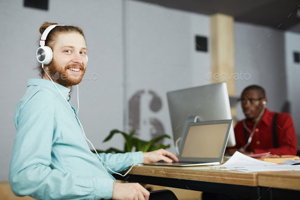 Modern Office Worker - Stock Photo - Images