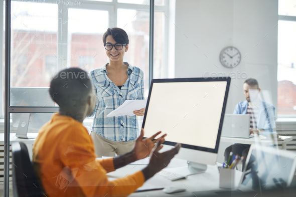 Start-up in office - Stock Photo - Images
