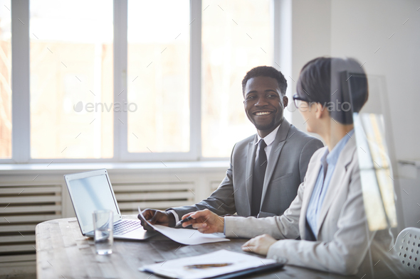 Happy colleague - Stock Photo - Images