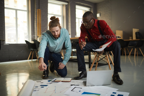 Businessmen Planning Project - Stock Photo - Images