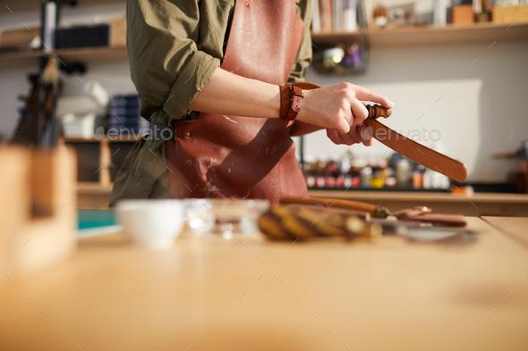Artisan at Work - Stock Photo - Images