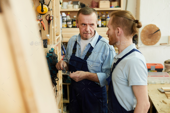Wprkers at Manufactory - Stock Photo - Images