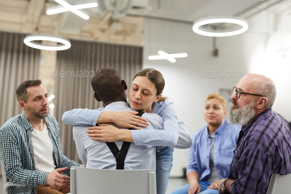 Therapy in Support Group - Stock Photo - Images