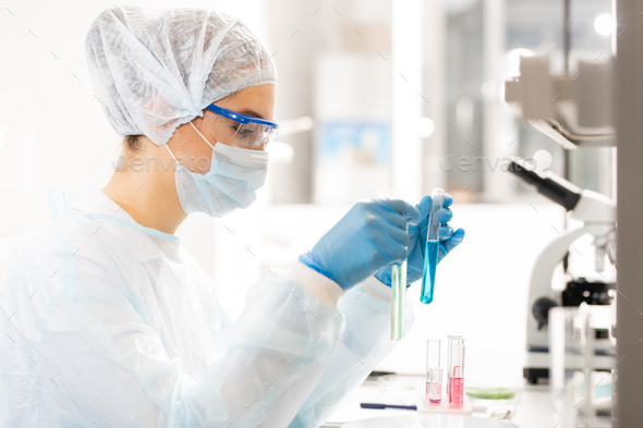 Clinical laboratory research - Stock Photo - Images
