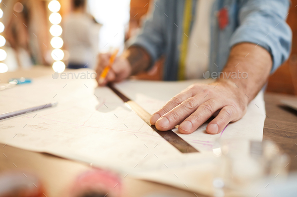 Tailoring work - Stock Photo - Images