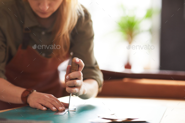 Female  Crafter - Stock Photo - Images